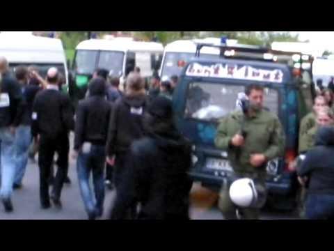 Polizeigewalt auf der Freiheit statt Angst 2009 :: Video: Chaos Computer Club e.V.