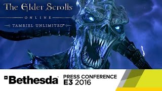 Looking Back at The Elder Scrolls Online - Official E3 2016 Trailer by GameSpot