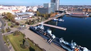 Gdynia Poland  City new picture : Parrot Bebop drone HD Gdynia Poland