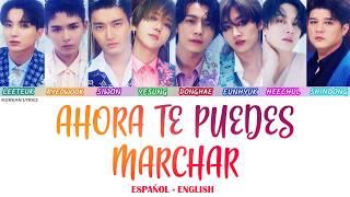 Video SUPER JUNIOR - AHORA TE PUEDES MARCHAR | Lyrics: Español - English MP3, 3GP, MP4, WEBM, AVI, FLV Oktober 2018