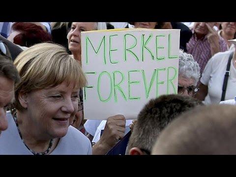 Ξανά υποψήφια καγκελάριος το 2017 η Άνγκελα Μέρκελ