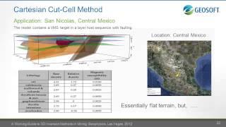Robert Ellis Geosoft - SEG 2012 Geophysical Inversion Workshop