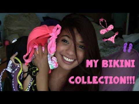 My Bikini Collection!! Hollister, Victoria Secret, Target & Hot Topic!! (Meghanrosette inspired)