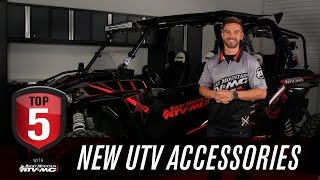 8. Top 5 Accessories for A New UTV