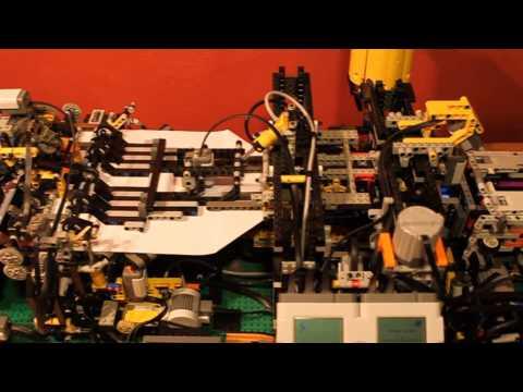 Lego Paper Plane Folding Machine