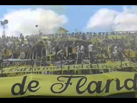 Recibimiento de Flandria 0 vs Deportivo Español 2. Parte I - La Barra de Flandria - Flandria