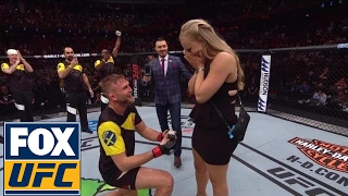 Video Alexander Gustafsson proposes to girlfriend after his KO win over Glover Teixeira | UFC FIGHT NIGHT MP3, 3GP, MP4, WEBM, AVI, FLV September 2018