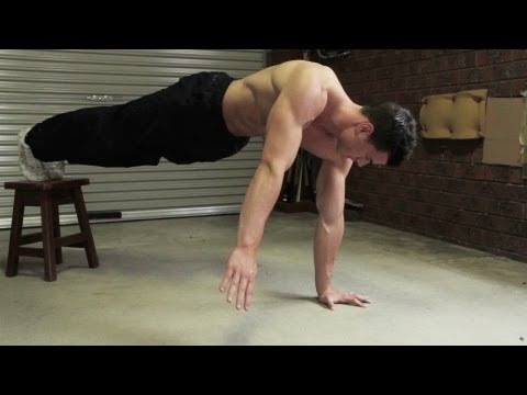 Bodyweight Upper Body Pushing Workout