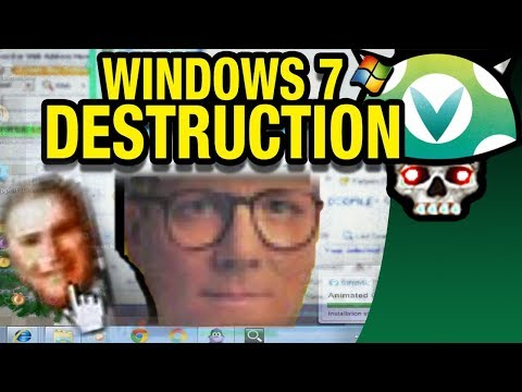 [Vinesauce] Joel - Windows 7 Destruction