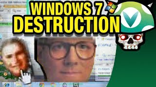The long awaited sequel to the Windows XP Destruction video, this time exploring the Windows 7 OS. Awful animated cursors...