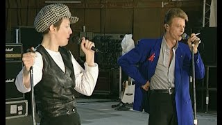 Queen, David Bowie & Annie Lennox - Under Pressure. Rehearsals, April 1992