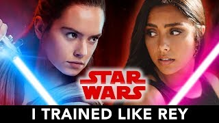 Video I Trained Like Rey From Star Wars For A Month ⚔️ MP3, 3GP, MP4, WEBM, AVI, FLV Januari 2019