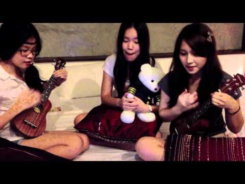 ละเมอ - Ukulele Cover By Peace Supermind and Ice (видео)