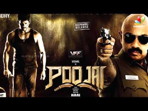 Vishal and Vijay  meet at Four Frames | Kaththi | Poojai