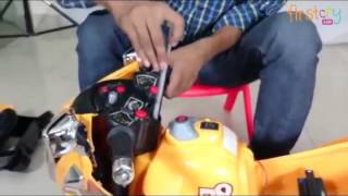 Sunbaby Super Cop Baby Ride On Bike Assembling Video