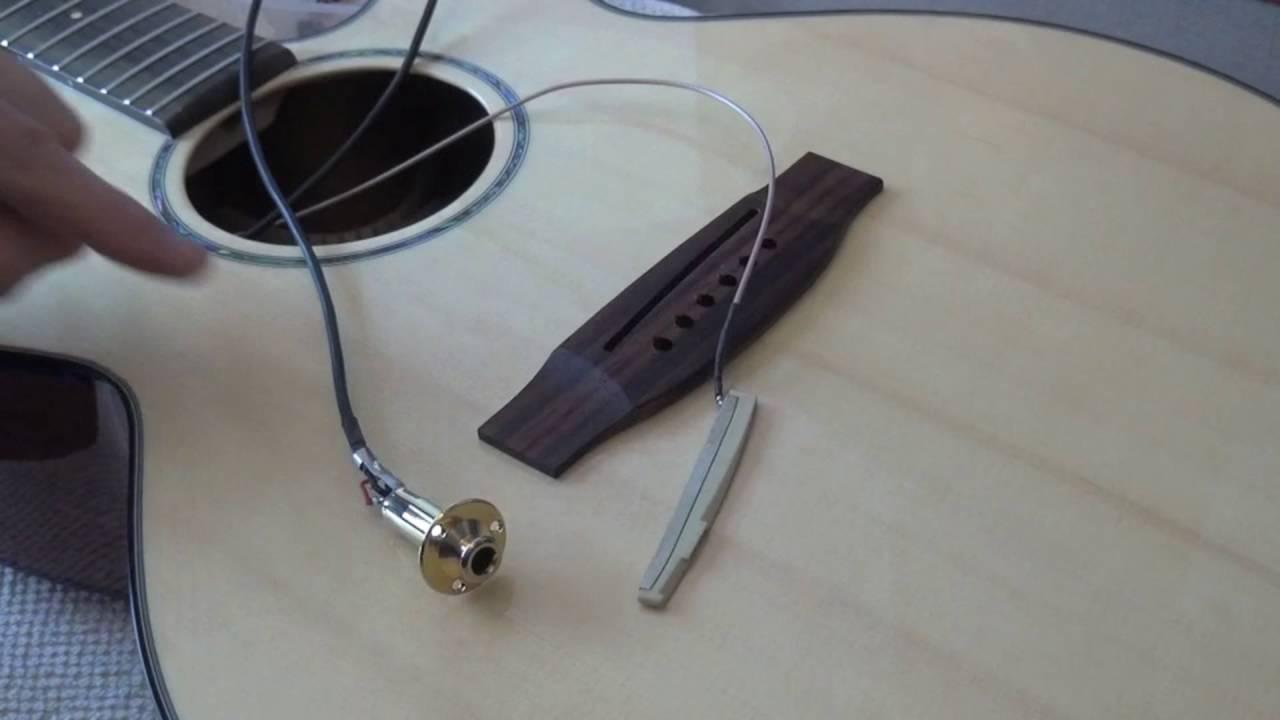 Takamine Acoustic Guitar Piezo Repair