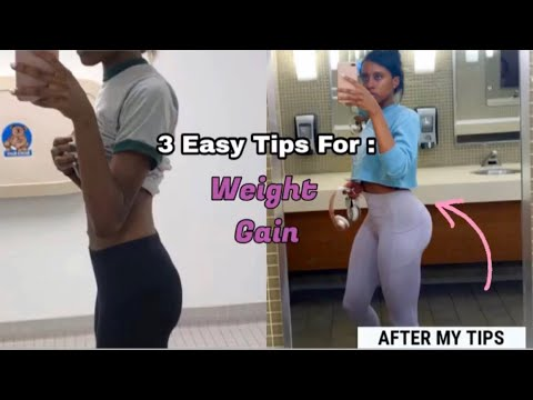 3 TIPS TO GAIN WEIGHT FAST FOR SKINNY GIRLS (BULK UP FAST!)