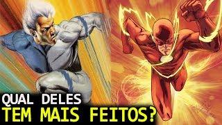 De qual velocista você mais gosta? Flash da Dc comics ou Mércurio da Marvel? Bom, não importa, você sabe qual deles tem mais feitos? Confere ai! Videos 2 Minutos: https://www.youtube.com/watch?v=Jx4JrTbSXG4O Ei Nerd é o seu canal de super heróis, animes, cinema, séries, quadrinhos, Marvel, DC e tudo do mundo geek no Youtube.Se inscreva no nosso canal: http://goo.gl/J8l7PJFacebook: https://www.facebook.com/einerd.com.brGrupo: https://www.facebook.com/groups/EinerdTwitter: https://twitter.com/Ei_NerdUm video do site www.einerd.com.brEdição: Marcel RodriguesDireção: Peter Jordan (Twitter: https://twitter.com/peterjordan100 e Facebook: http://www.facebook.com/peterjordan1977)Publicidade: isabela@einerd.com.br