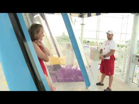 Take the plunge at Cedar Point Shores (видео)