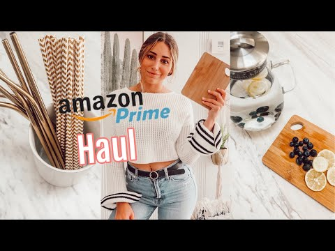 AMAZON MADE ME HEALTHY// Amazon + Home Goods Haul