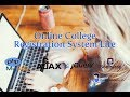 Online College Registration System Lite with PHP MySQL and Bootstrap