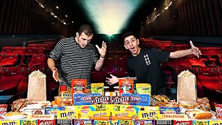 Video Eating the ENTIRE Movie Theater MENU!! **25,000 CALORIES** MP3, 3GP, MP4, WEBM, AVI, FLV Juni 2019