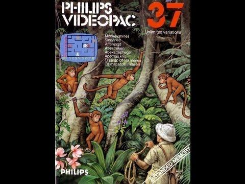 Nr. 37 Affenjagd   Philips Spielekonsolen   G7000 / G7400 / Videopac / Videopac+