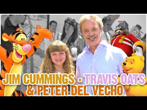 JIM CUMMINGS INTERVIEW w TRAVIS OATES & PETER DEL VECHO & PIGLET at POOH PREMIERE! (PQP #058)