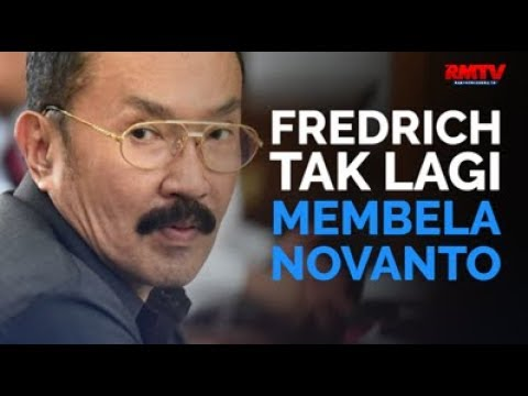 Fredrich Tak Lagi Membela Novanto