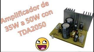 Download Lagu Amplificador de audio estéreo de 35W a 50W con tda2050. Muy Fácil !! Mp3