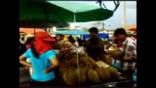 Ban Laem Thailand  City pictures : Market day. Ban Laem, Phetchaburi, Thailand