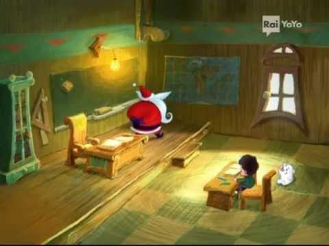 Primo episodio del cartone animato di babbo natale apprendista babbo natale cartone animato completo in italiano