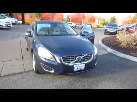 2012 Volvo S60, Blue - STOCK# 13-3032A