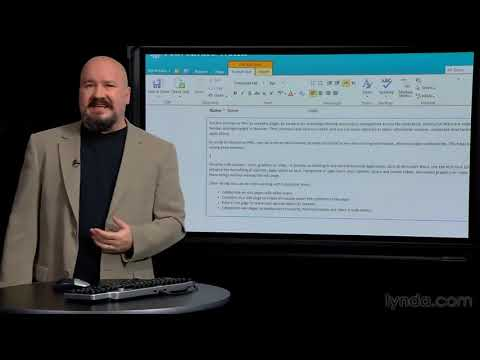 sharepoint demo - This web development overview explores what SharePoint is and how it works. Watch more at http://www.lynda.com/SharePoint-2010-tutorials/essential-training/6...