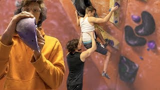 We created what you wanted! Got help from a test climber. by Eric Karlsson Bouldering