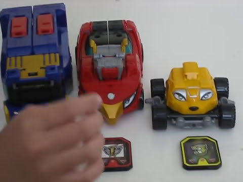 rpm - Power Rangers RPM High Octane Megazord Review.