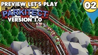 Parkitect 1.0 - Preview Let's Play • #002 [Deutsch/German][Gameplay]