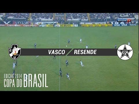 Vasco 1x0 Resende - CDB 2014