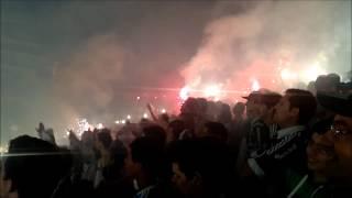Show da Torcida - Palmeiras x Coritiba 1º Jogo da Final - Copa do Brasil 2012.