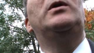 Stefan Löfven blir frågad om Bilderberg
