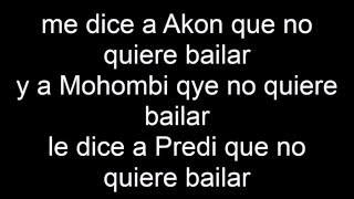 (Lyrics) Joey Montana - Picky ft. Akon, Mohombi (REMIX)