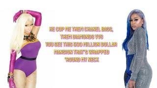 Trina, Nicki Minaj - BAPS (Lyrics)