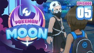 TEAM SKULL APPEARS!! - Pokemon Sun and Moon Playthrough (Episode 5) by Tyranitar Tube
