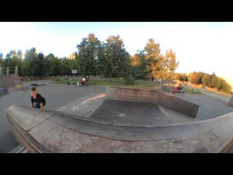 Скейтпарк едит из Кириш (видео)