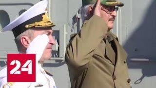 """Ливийский главнокомандующий посетил """"Адмирал Кузнецов"""""""