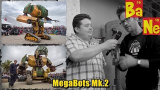 I was invited to Fortress 1 (MegaBots Headquarters) to view the new MegaBots Mk.3 Giant Fighting Robot standing 16ft tall and weighing over 14 tons. We get to see how the robot is built and how it will stack up against the Japanese Kuratas Robot that is scheduled to fight it in August of 2017. This is real life Mech Warrior folks, this is going to change the face of stadium entertainment forever!▼ Links to MegaBots information & media so you can stay up to date ▼Website - http://MegaBots.comTwitter - https://twitter.com/megabotsincInstagram - https://www.instagram.com/megabotsinc/Facebook - https://www.facebook.com/megabotsincYouTube - https://www.youtube.com/user/megabotsinc▼ Check out the Markforge Carbon Fiber/Kevlar 3D Printer ▼http://amzn.to/2s3G7OA▼ Join me for my Morning Coffee Live Stream Monday - Friday ▼http://Twitch.TV/Barnacules^- Click the link and follow the channel to get notified when I go live!▼ Join me on Discord for live text & voice chat throughout the day ▼http://discord.gg/barnacules▼ Get behind the scenes updates on all my social networks daily ▼Twitter - http://twitter.com/barnaculesInstagram - http://instagram.com/barnaculesFacebook - http://facebook.com/barnaculesnerdgasmDiscord - http://discord.gg/barnacules▼ Links to Equipment & Software I use to produce my videos & live stream ▼ Sony FDR-AX53 4k Camera - http://amzn.to/2hkJBo9Sony FDR-AX33 4k Camera - http://amzn.to/2hc6L1RSony NP-FV100 Extended Battery - http://amzn.to/2hhZYV0Manfrotto Professional Fluid Video Tripod - http://amzn.to/2grdC8sManfrotto Ballhead (Existing Tripod) - http://amzn.to/2gyCfyvJoby Gorilla Pod Focus - http://amzn.to/2hkJ6dFJoby Gorilla Pod Standard - http://amzn.to/2gNOCo4Joby Gorilla Pod Ballhead - http://amzn.to/2hi0jXLSennheiser MKE-440 Microphone - http://amzn.to/2hhEIfcZoom H6N Audio Recorder - http://amzn.to/2gyCn10Zoom H4N Audio Recorder - http://amzn.to/2hkNSbcAudio-Technica ATR3350 Lavaliere Microphone - http://amzn.to/2gyClGlLarge Aputure Light Storm LED Light Panel - http://amzn.to/2gNPdWQ Smaller Aputure LED Light Panel - http://amzn.to/2gNNKjjePhotoInc 500 LED Light Panels (Cheaper) - http://amzn.to/2gO2kY3Compact CFL lighting kit (Budget) - http://amzn.to/2gyAOQLAdobe Creative Cloud Software - http://adobe.com Sony Vegas Editing Software - http://amzn.to/2hi1tCk▼Come follow me on social media for behind the scenes stuff 24/7▼Twitter - http://twitter.com/barnacules (*My most active network)Instagram - http://instagram.com/barnacules Facebook - http://facebook.barnnerd.comBlog - http://blog.barnnerd.com▼ Discount on GT Omega Racing Office Chair ▼GT Omega Chairs @ http://bit.ly/1lA4h4K-or-Use code 'NERDGASM' at checkout!▼ Join My Folding@Home Team And Let's Find A Cancer Cure ▼Barnacules Nerdgasm Team # 231300Download Client @ http://folding.stanford.edu/** Top 10 contributors shown on Twitter weekly▼ You can tip me directly via PayPal if you think I did a good job ▼http://bit.ly/helpbarnacules▼ Want to be my boss and help steer the direction of my channel ▼http://patreon.com/barnacules▼ Special Thanks ▼- Gui & Matt -Thank you for allowing us to tour your facility and make this video- Kelsey -Thanks for getting me an 'in' with MegaBots- Xaqaria (aka. Jason) -Thanks for being my camera man, sorry my stabilizer was turned off on the camera making you look jittery, totally my bad! Couldn't have done it without you.- Matter Hackers & Ultimaker -Thank you for sponsoring my trip to Bay Area Maker Fair so I could take a detour and review this amazing giant fighting mech▼ Questions & Answers ▼Q) Why at 7:45 does it say [Click Analyze to Begin]?A) Because Adobe Premiere has given me a lot of problems lately and apparently the warp stabilizer filter prints it's diagnostic data to the screen when rendering the final product sometimes, not good Adobe. Didn't have enough time to re-render unfortunately.Q) What's with the warp stabilizer errors?A) Adobe Premiere has been giving me a lot of trouble lately and for some reason it worked fine in the preview but when rendered these showed up. I didn't have time to render again unfortunately so now they are conversation pieces :D