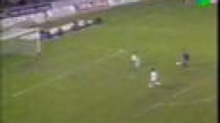 Gary Lineker erzielt Hattrick gegen Real Madrid