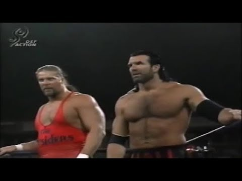 Kevin Nash & Scott Hall Vs. The Giant & Lex Luger [nWo Vs. WCW Take Over Germany Tour '97]