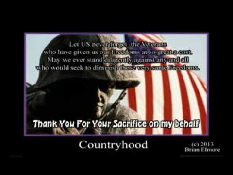 Elmore - A salute to American Freedom and the diehard commitment to protect it. Words cannot express the gratitude of this nation for the service men and women who sa...