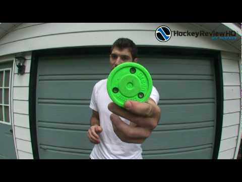 0 Green Biscuit Training Puck Review   HockeyReviewHQ.com